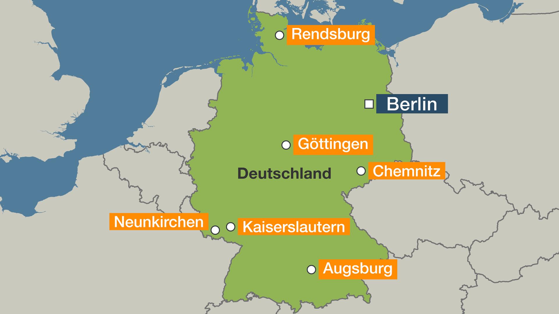 Mehrere Rathäuser in Deutschland geräumt wegen Drohung